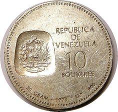 Venezuela 900 silver coin 1973 gram 30 low grade by VENEXILE, $35.00