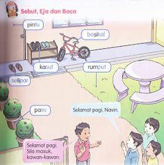 KSSR Bahasa Malaysia Tahun 1: November 2011 Malay Language, Activities For Kids, Homeschool, November, Family Guy, Education, School Kids, Schedule, Fictional Characters