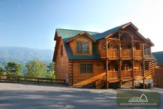 Amazing View Lodge is a gorgeous cabin with breathtaking views.