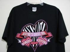Waynes Drive Inn M Lawton Ok Valentine Love Potion Number Nine Black T Shirt #Gildan #GraphicTee