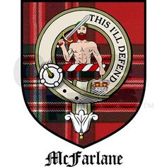 McFarland Crest with Tartan