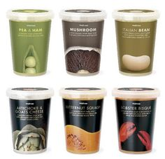 PACKAGING | UQAM: Les soupes Waitrose | Pearl Fisher PD