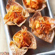 Sweet Potato Wantons from Diabetic Living