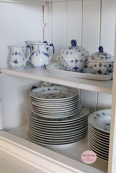 Musselmalet, Royalcopenhagen, Bing og Grøndahl, Havets Sus, Denmark, Danish Design, Dansk Design.
