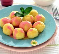 Knedle z owocami