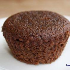 Chocolademuffins van kokosmeel: •40 gram kokosmeel •20 gram rauwe cacao •80 gram honing •60 gram gesmolten kokosolie (of 60 gram zachte grasboter) •4 eieren •1/2 theelepel baking soda