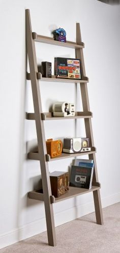Leaning Tower of Lumber - Standard-size lumber gives shape to this bookshelf