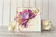 JaMajka: A card with peonies