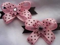Dog Bows by Snapinbows...UNIQUE! Teaches you how to make the bows. Part 1.