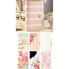 Planner Kit- Blush Stripe
