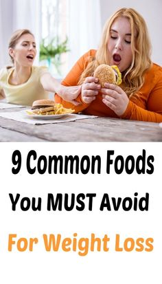 9 Common Foods You MUST Avoid For Weight Loss – antiagingzorld Start Losing Weight, How To Lose Weight Fast, Health And Fitness Tips, Fitness Plan, Body Fitness, Workout Fitness, Foods To Avoid, Health And Nutrition, Women's Health