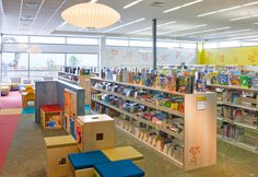 Books and books and books at the Herriman Library
