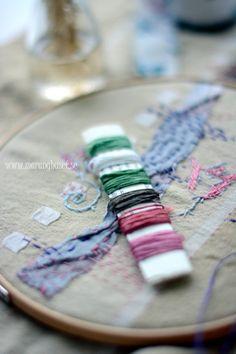 Vintage Cotton Thread  Handpicked Stitching Kit   by Maranghouse, €4.40