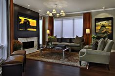 Family room color schemes beautiful attractive paint colors for rooms also living 2017 lovely basement Family Room Colors, Family Room Walls, Family Room Design, Living Room Colors, Living Room Paint, My Living Room, Living Room Designs, Salons Violet, Interior Modern