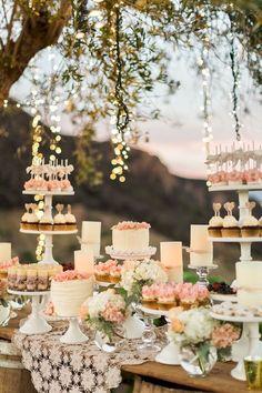 Adorable 90 Adorable Wedding Dessert Table Ideas https://bitecloth.com/2017/10/20/90-adorable-wedding-dessert-table-ideas/
