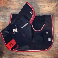 GEM le rouge et le noir ❤️🖤 Tapis. Amortisseur 3d et bonnet Spinelle.