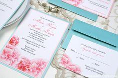Carnation Wedding Invitations, Carnation, Wedding Invitation