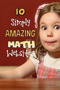 10 Simply Amazing Math Websites There are times when only a great math webiste will do! Here are ten of the best of the best to teach, reinforce and help kids absolutely love math! Math For Kids, Fun Math, Math Games, Math Activities, Math Math, Math Classroom, Kindergarten Math, Teaching Math, Teaching Ideas