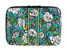 17'' Vera Bradley Laptop Sleeve (Island Blooms)