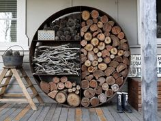 Love this idea for the fire pit!!