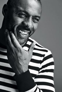 Idris Elba  This is perfection right here. Don't argue, you won't win. If you are looking for a fortieth birthday gift... this is the only thing I require.