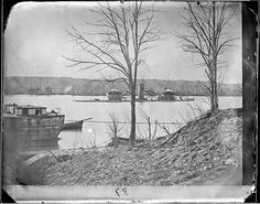 Taken circa 1863 Fort Brady, Virginia, US Steam Boats, Still Picture, War Image, Photo Maps, National Archives, American Civil War, Monitor, Virginia, River