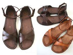 EDER SHOES RUBBER SOLE strap sandals