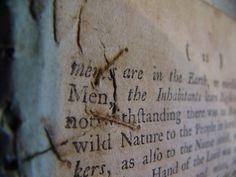 old paper mending