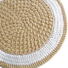 Crochet Round Rug Crochet Pattern