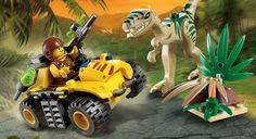 5882 Coelophysis Ambush Lego Dino #Colorforms #Creativity