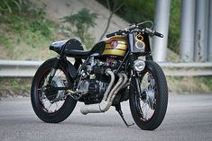 ϟ Hell Kustom ϟ: Honda CB500 By M&M Customs