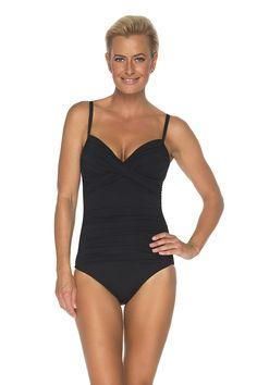 TOGS Molded Underwire Tank Black swimsuit, one piece swimsuit,one piece bathers, swimwear, tummy control swimsuit, slimming swimsuit, cruise fashion, cruise style, cruise wear, swimsuit, bathers, bathing suit, summer, beach outfit, summer look, summer outfit, tummy control, ruched swimsuit, swimwear, women's swimsuit, ladies bathing suit, Black Swimsuit, One Piece Swimsuit, Tummy Control Swimsuit, Cruise Fashion, Cruise Wear, Women Bikini, Outfit Summer, Summer Looks, Women Swimsuits