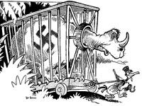 Dr. Suess went to War -- political cartoons related to WWII