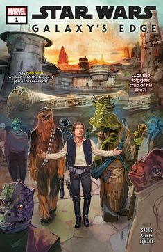Star Wars: Galaxy's Edge (comic series) | Wookieepedia | Fandom