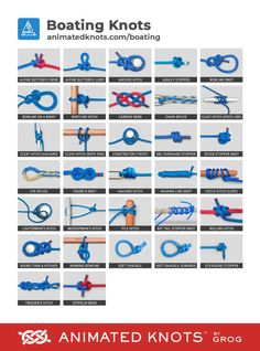 Boating knots by grog learn how to tie boating knots using step by step animations animated knots by grog cmo atar un medio enganche wiki til nudo de camping al aire libre aire atar camping Survival Knots, Survival Skills, Survival Food, Animated Knots By Grog, Scout Knots, Sailing Knots, Bowline Knot, The Knot, Knots Guide