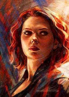 Battlefield | by Five-OClock.deviantart.com on @DeviantArt | Black Widow | Avengers | Superheroes