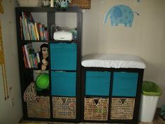 Just another diaper in nursery idea!