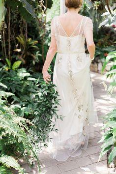 Glamorous Jenny Packham Wedding Dress | Vintage Botanical Wedding Inspiration | Kerry Jeanne Photography Jenny Packham Wedding Dresses, Jenny Packham Bridal, Botanical Wedding, Dress Vintage, Bridal Gowns, Wedding Inspiration, Glamour, Weddings, Bride