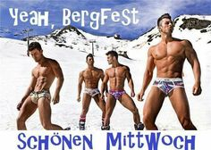 Guys in undies in the snow Underwear, Different Hair Colors, Male Models, Winter, Beautiful Men, Sexy Men, Hot Guys, Boys, Swimwear