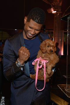 Usher pays $ 12,000 for puppy at #charity auction: Pencils of Promise #Gala at Guastavino's on Oct. 25 in New York.