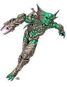 Aquatic Soldier by ProdigyDuck on DeviantArt Fantasy Character Design, Character Art, Arte Grunge, Alien Design, Armor Concept, Monster Art, Dope Art, Dark Fantasy, Fantasy Characters