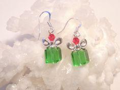 Christmas Gift Earrings Christmas Jewelry by pnljewelrydesigns, $12.00