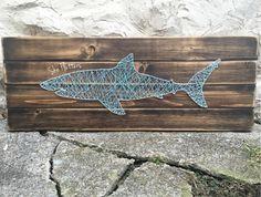 Shark Nautical Aquarium Baby's Nursery Child's by SheFlutters
