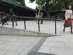 The Meiji Shrine is an essential stop for anyone visiting Japan. The accessibility is a bit of a mixed bag: great ramps and toilet, but a long gravel path. Meiji Shrine, Gravel Path, Visit Japan, Tokyo, Gravel Pathway, Tokyo Japan