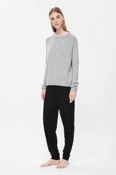 Knitted leggings - 100% Merino wool - COS
