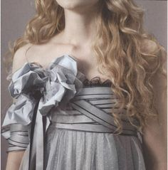 Alice's teapot scraps ribbon dress picture