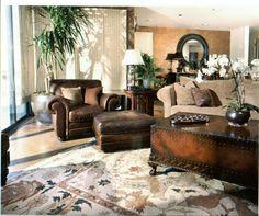 Safari Design, Pictures, Remodel, Decor and Ideas - page 48 Masculine Master Bedroom, Casual Elegance, Safari, Couch, Living Room, Interior Design, Elegant, Rooms, Interiors