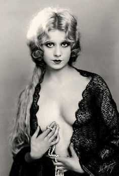 Ziegfeld Girl Faith Bacon.
