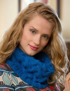 Prepare for the upcoming winter season with your very own Once Around Cowl. Made with bulky yarn, this trendy cable knit cowl pattern is sure to keep you warm and toasty.