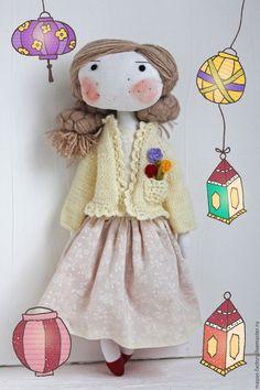 Купить Кукла для девочки. Лили. - кукла ручной работы, игровая кукла, игровая игрушка
